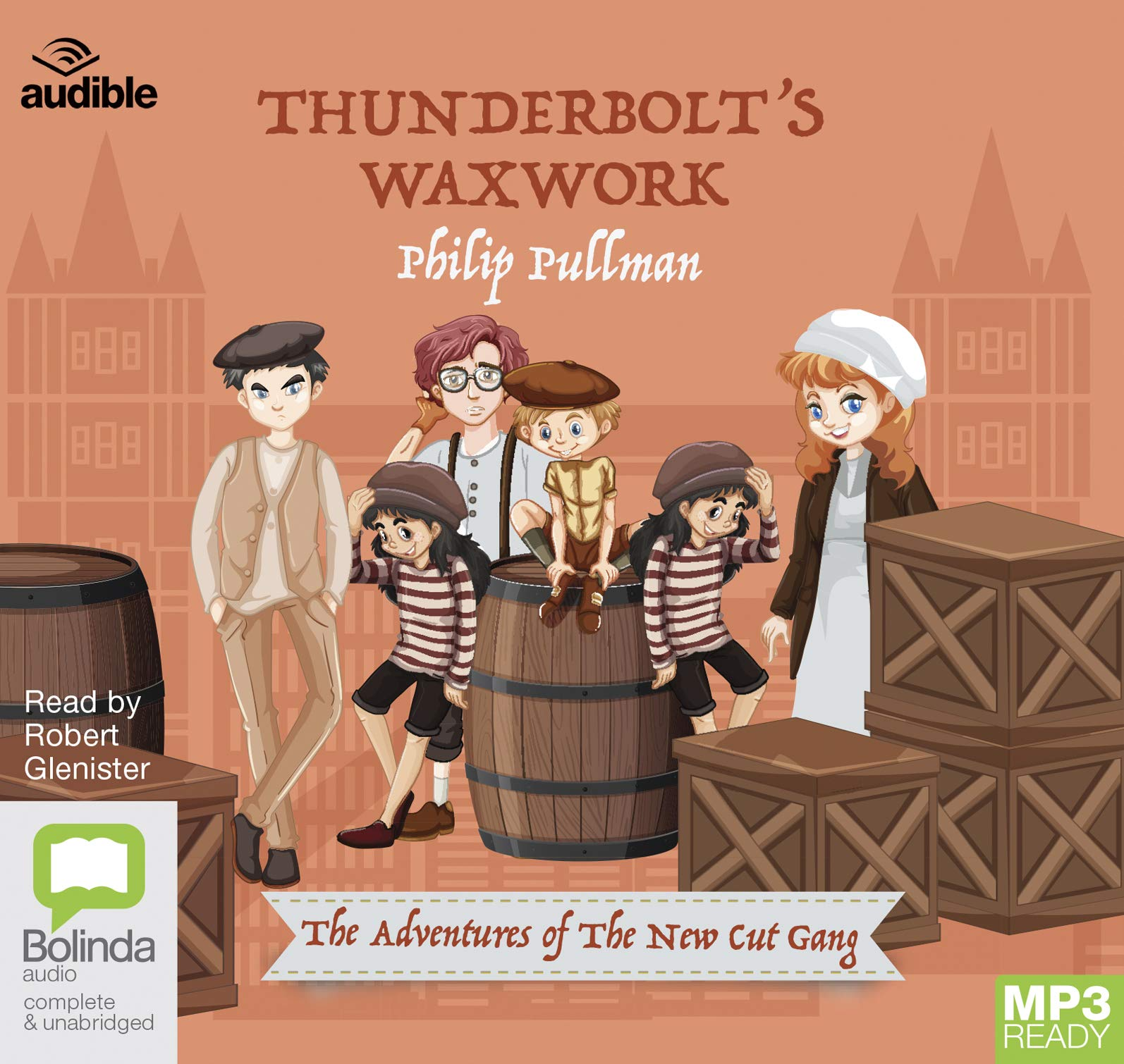 Thunderbolts Waxwork (audiobook)