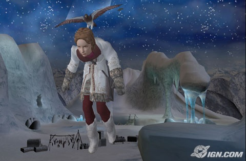 Lyra vole avec Pan