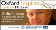 Pullman parle pour Oxford Inspires