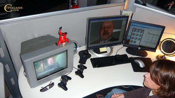 Programmeur d'un visage 3D