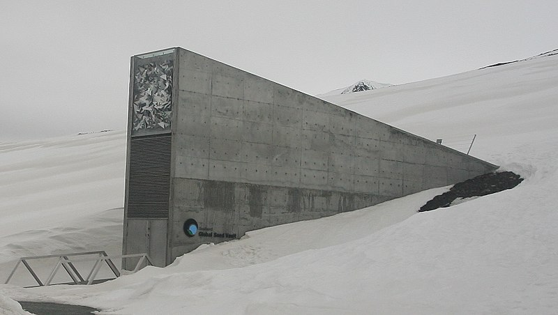 Global Seed Vault, Svalbard (Miksu, CC BY-SA 3.0)