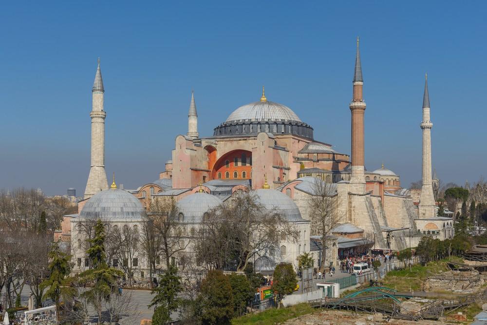 Hagia Sophia / Pic by Aril Vagen / CC BY-SA 3.0