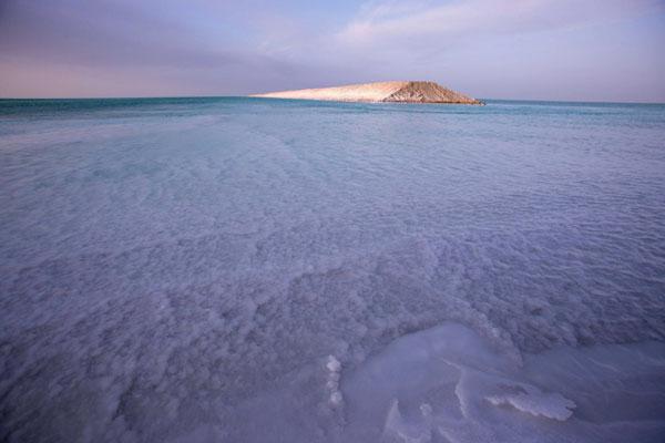 Lac de sel du Lop Nor - Xinhua/ChinaDaily.com.cn