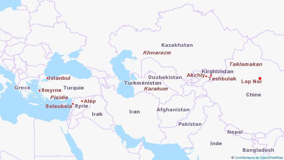 Asie Centrale, chez Lyra